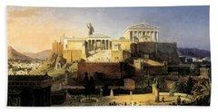 Acropolis Of Athens Hand Towel