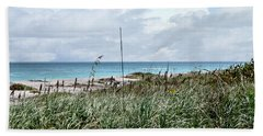 Across The Dunes At Hobe Sound Bath Towel