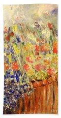 Adirondack Floral Bath Towel by Laurie L