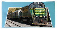 Adirondack Railroad Bath Towel