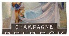 Advertisement For Champagne Delbeck Bath Towel