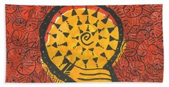 African Shell Pattern Hand Towel