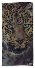 After Dark All Cats Are Leopards Hand Towel