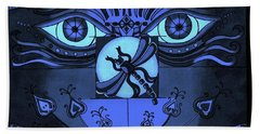 After Midnight Hand Towel