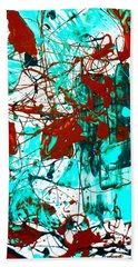 After Pollock Hand Towel