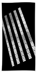 After Rodchenko 2 Bath Towel by Rona Black