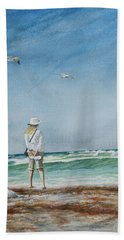 After The Storm Hand Towel by Arthur Fix