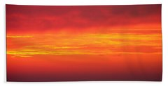 Afterglow Hand Towel by Mariarosa Rockefeller
