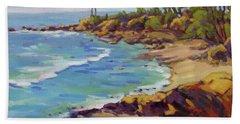 Afternoon Glow 2 /laguna Beach Bath Towel