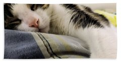 Bath Towel featuring the photograph Afternoon Nap by Robyn King