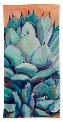 Agave With Pups Hand Towel