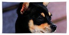 Agie - Chihuahua Pitbull Hand Towel