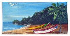 Aguadilla Beautiful Beach Hand Towel