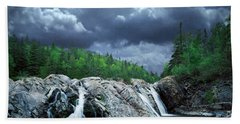 Aguasabon River Mouth Hand Towel