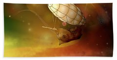 Airship Ethereal Journey Hand Towel