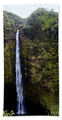 Akaka Falls Bath Towel by Patricia Griffin Brett