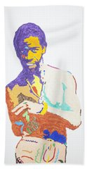 Al Green Bath Towel by Stormm Bradshaw