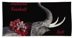 Alabama Football Roll Tide Bath Towel