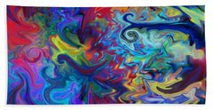 Bath Towel featuring the digital art Aladdin's Lamp by Peggy Collins
