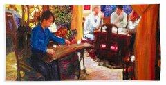 Guzheng Bath Towel