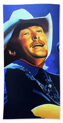 Alan Jackson Painting Hand Towel