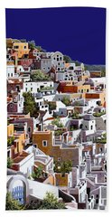 alba a Santorini Hand Towel