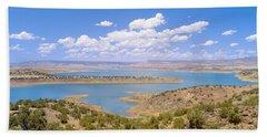 Albiquiu Reservoir, Route 84, New Mexico Bath Towel