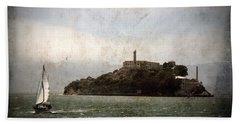 Alcatraz Island Hand Towel