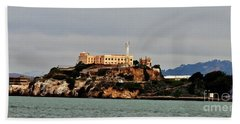 Alcatraz Island - The Rock Hand Towel