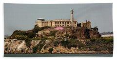 Alcatraz Panorama Bath Towel
