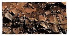 Alexander Hills Bedrock In Mars Hand Towel