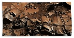 Alexander Hills Bedrock In Mars Bath Towel