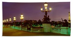 Alexander IIi Bridge, Paris, France Hand Towel