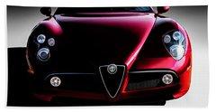 Alfa Romeo 8c Bath Towel