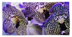 Aliens. Orchids From Keukenhof. Netherlands Bath Towel