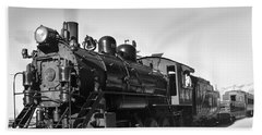 All Aboard Hand Towel by Robert Bales