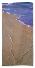 Hand Towel featuring the photograph All Roads Lead To The Sea by Gary Slawsky