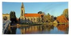 All Saints Church Marlow Bath Towel