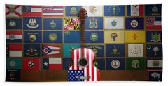 All State Flags Hand Towel