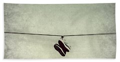 All Tied Up Hand Towel by Melanie Lankford Photography