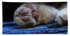 Alley Cat Snooze  Bath Towel