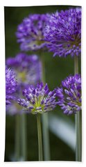 Alliums Bath Towel