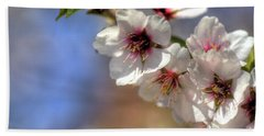 Hand Towel featuring the photograph Almond Blossoms by Jim and Emily Bush
