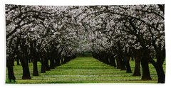 Almond Orchard Bath Towel