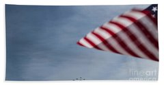 Bath Towel featuring the photograph Almost Home by Angela DeFrias