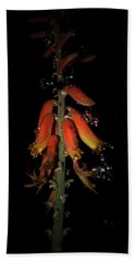 Bath Towel featuring the photograph Aloe Flower by Leticia Latocki