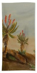 Aloes Hand Towel