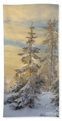 Alone But Strong Bath Towel by Rose-Maries Pictures