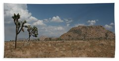 Joshua Tree State Park Bath Towel by Karen Harrison