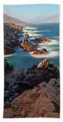 Along The Coastline Bath Towel